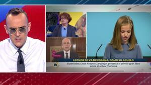 """Risto Mejide ofrece trabajo al responsable del rótulo de TVE sobre Leonor: """"Queremos gente como tú"""""""