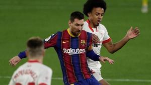 Messi y Koundé volverán a verse las caras este sábado.
