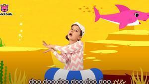 Una imagen del videoclip 'Baby Shark'.