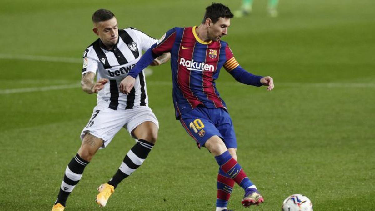 Como suele ocurrir, Messi fue el protagonista del partido de ida en el Camp Nou.