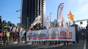 Caixabank ofereix una altra proposta d'ajust de plantilla als sindicats