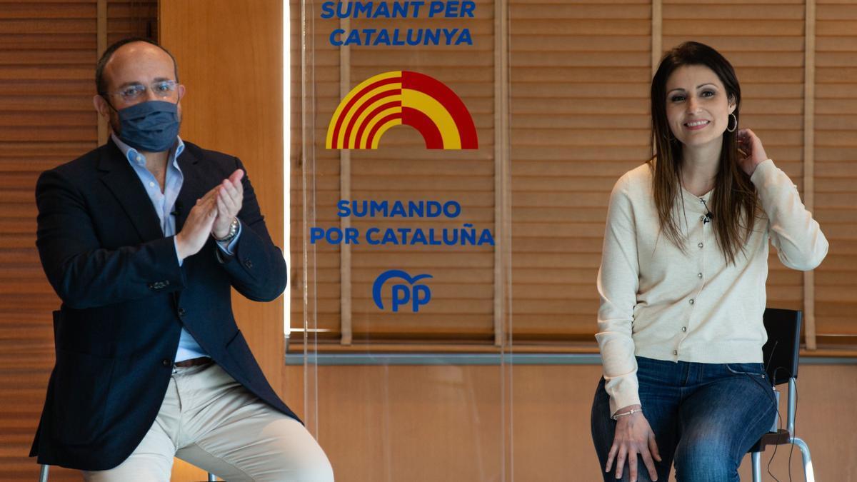 Lorena Roldán abandona Cs para ser la dos del PPC el 14F y aunar el voto constitucionalista