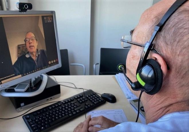 El Hospital Esperit Sant de Santa Coloma potencia las visitas virtuales