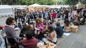 Barcelona trasllada el seu popular Mercat de Mercats als Encants