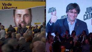 La Junta Electoral tumba el debate Junqueras-Puigdemont en TV-3
