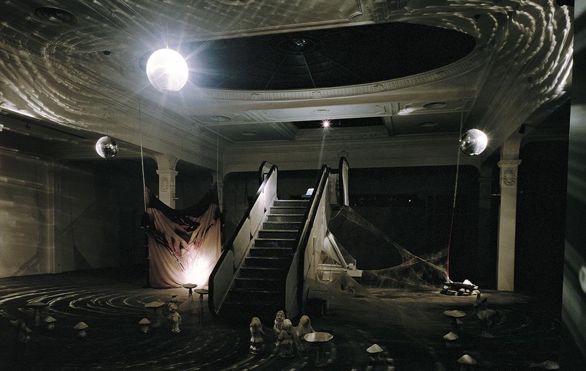 Instalación de Carlos Pazos 'No hay Replay', que se verá en la exposición del Macba dedicada a la colección Rafael Tous.