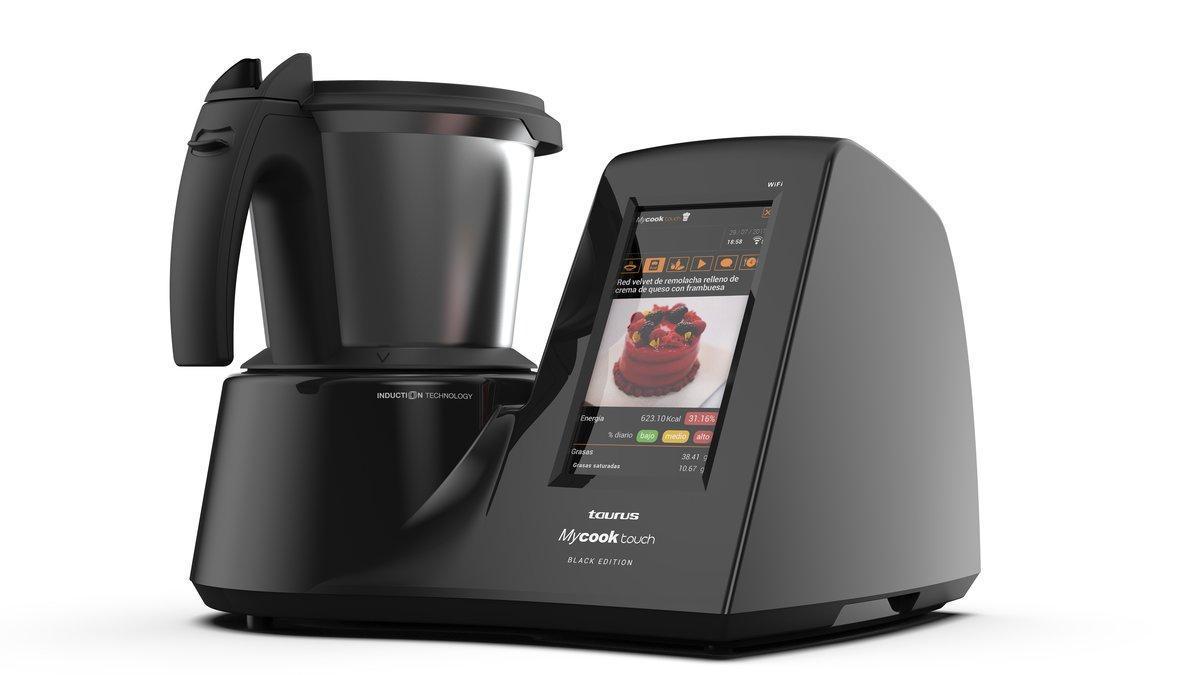 Así Es El Robot De Cocina Mycook Touch Black Edition De Taurus