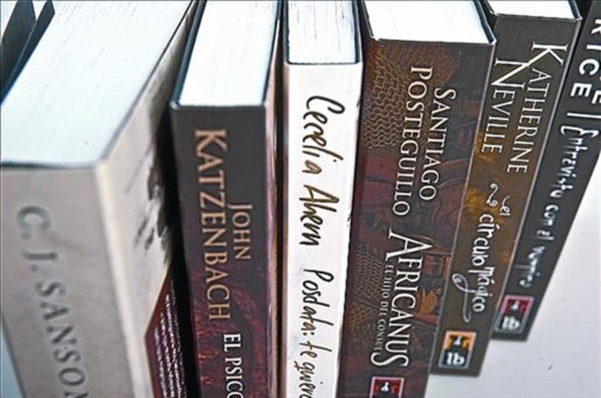 Los seis títulos que Ediciones B ha lanzado en formato Librino.
