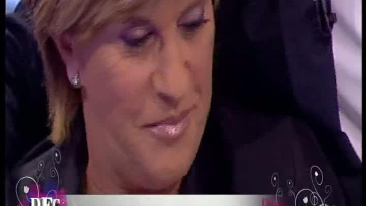 Chelo García-Cortés recibió un emotivo adiós en 'DEC' (A-3 TV).