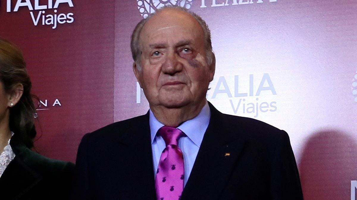 El rey Juan Carlos, en una imagen de mayo del 2019.