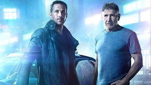 Imagen de 'Blade Runner 2049', conRyan Gosling y Harrison Ford.