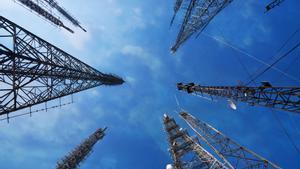 Torres de telecomunicaciones.