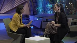 Rosa López hablando con Ana Pastor en 'Dónde estabas entonces'.