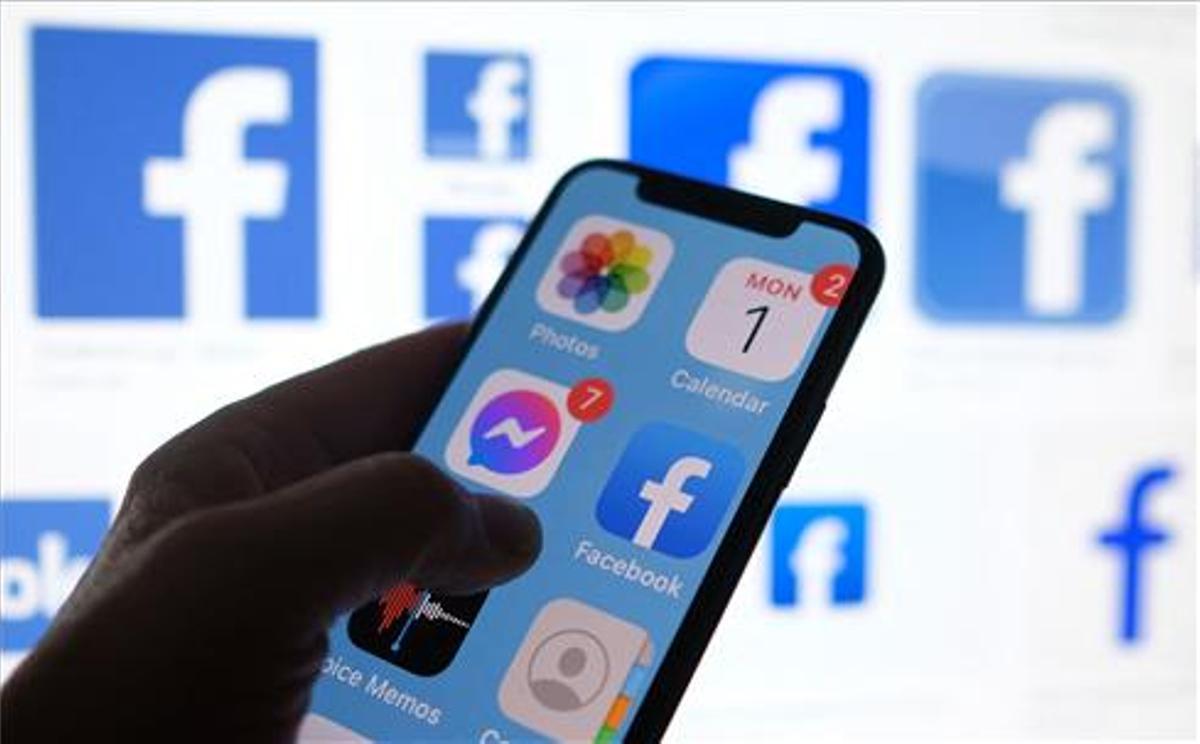 La aplicación de Facebook.