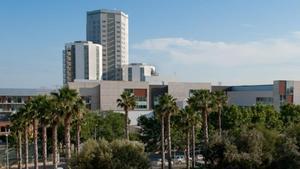Vista general del Hospital de Bellvitge.