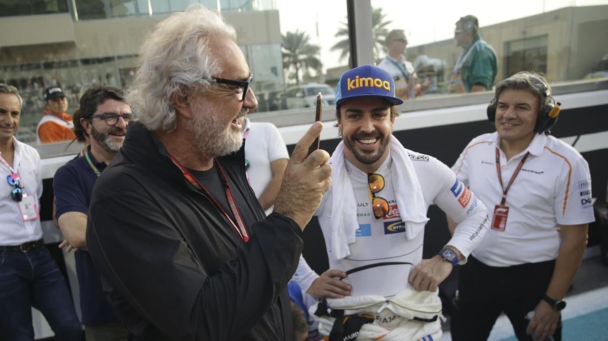 Flavio Briatore, en una imagen de hace dos años en los Emiratos.