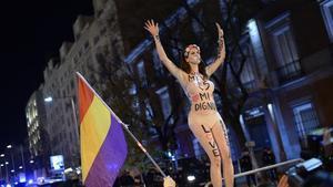 Imagen de la manifestación 'Rodea el Congreso' celebrada el 14 de diciembre del 2013.