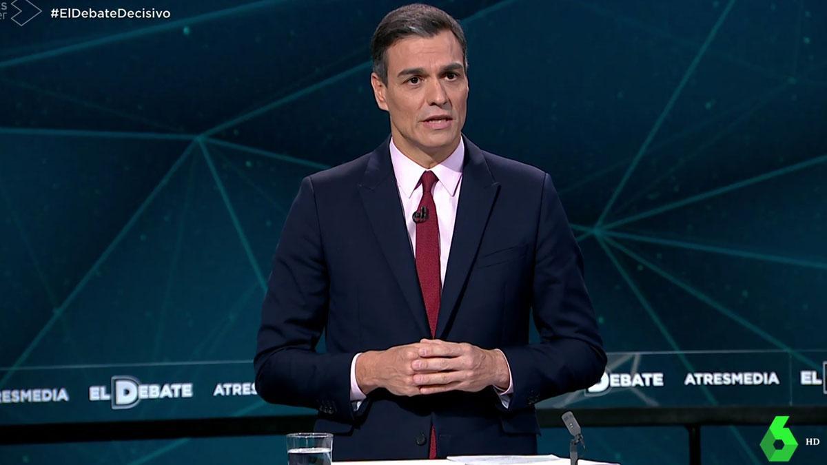 Debate en Atresmedia. Sánchez: Solo el PSOE puede ganar a las dos derechas y estamos muy cerca.