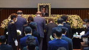 Funeral de Park Won-soon en Seúl.