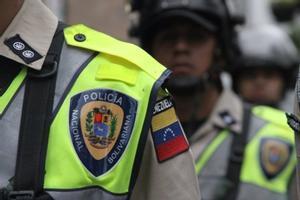 Policía venezolana.
