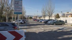 Parkingpark&ride:aparcamiento de intercambio P+R en Sant Joan Despí