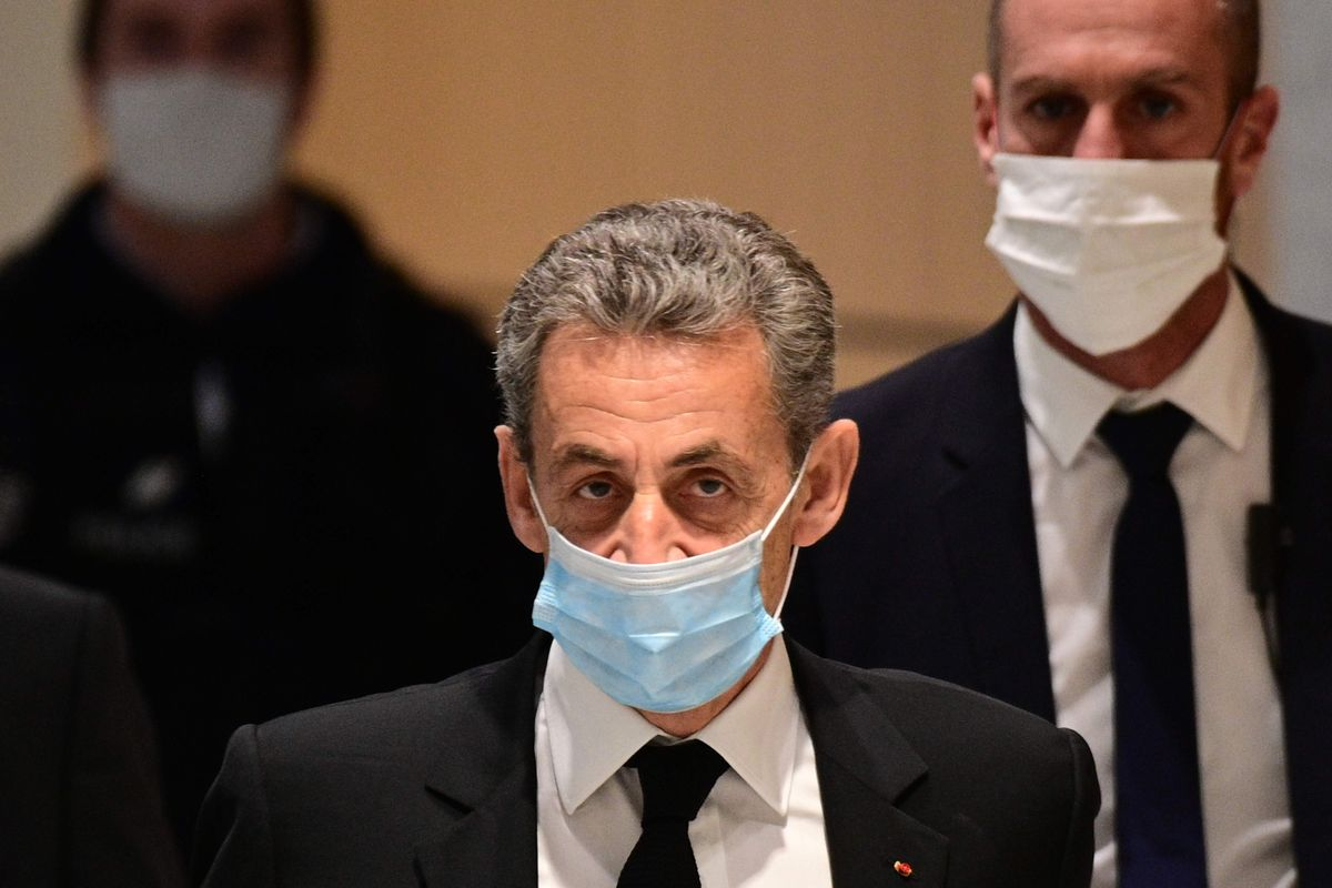 Nicolas Sarkozy, a su llegada a los juzgados el pasado 7 de diciembre.