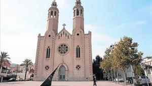 La Esglèsia Nova de Sant Pere de Ribes.