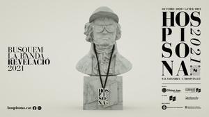 Cartel del concurso Hospisona 2021 de L'Hospitalet de Llobregat.