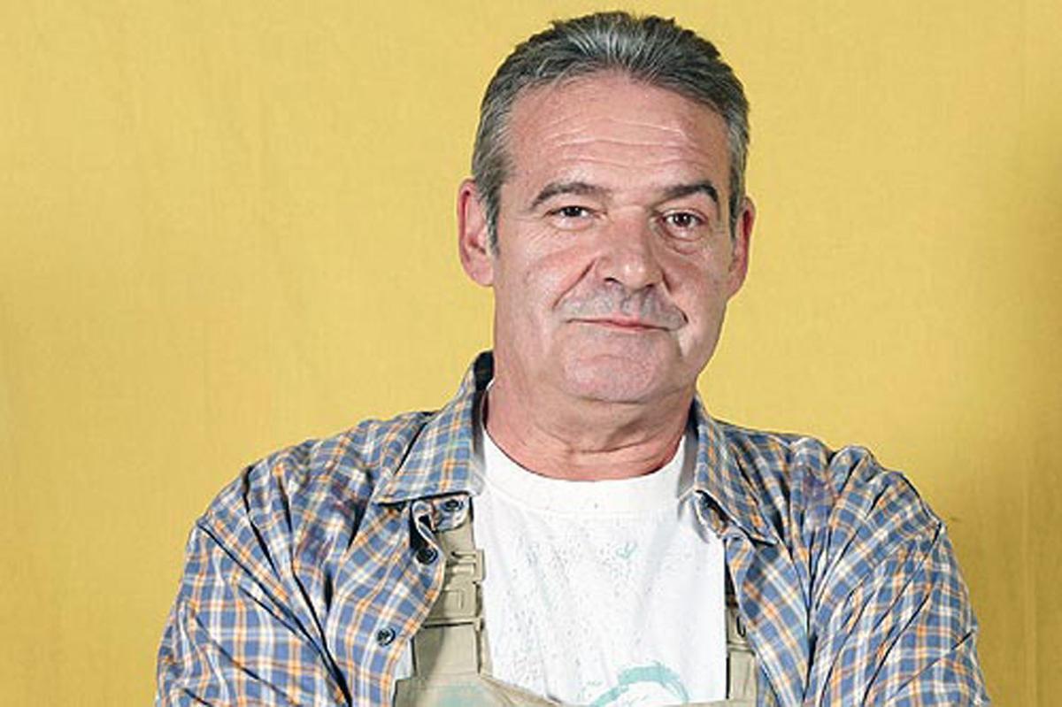 El actor Ángel de Andrés López, popular gracias al papel de Manolo en 'Manos a la obra'.