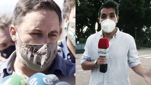"""Abascal estalla contra un reportero de 'Todo es mentira': """"Usted es un activista, ¡váyase al cuerno!"""""""
