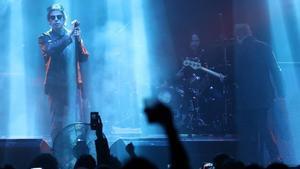 Ian McCulloch, en el concierto de Echo & The Bunnymen en Razzmatazz