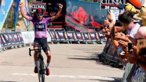 Iván Sosa gana el año pasado en las Lagunas de Neila.