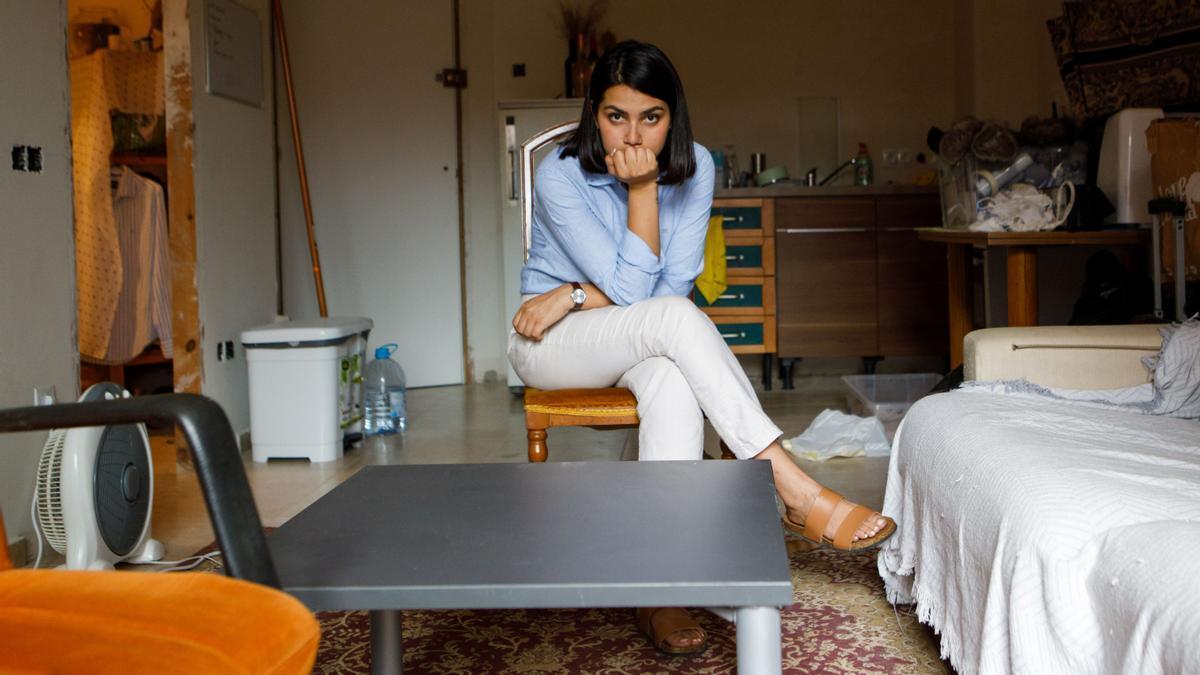Lema Rashid, refugiada afgana que vive en Sant Celoni, en Barcelona.