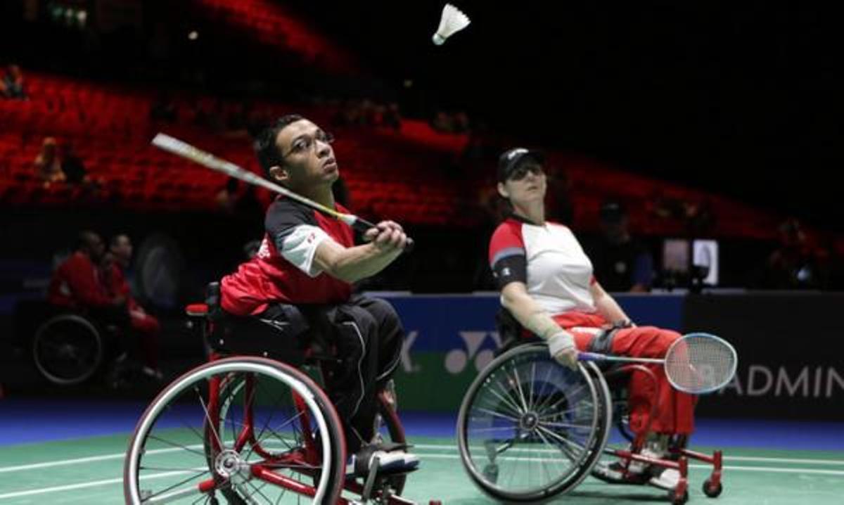 El bádminton es una de las disciplinas debutantes en estos Juegos Paralímpicos.