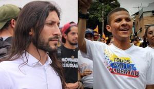 Renzo Prieto y Gilber Caro, ambos presos en Venezuela.