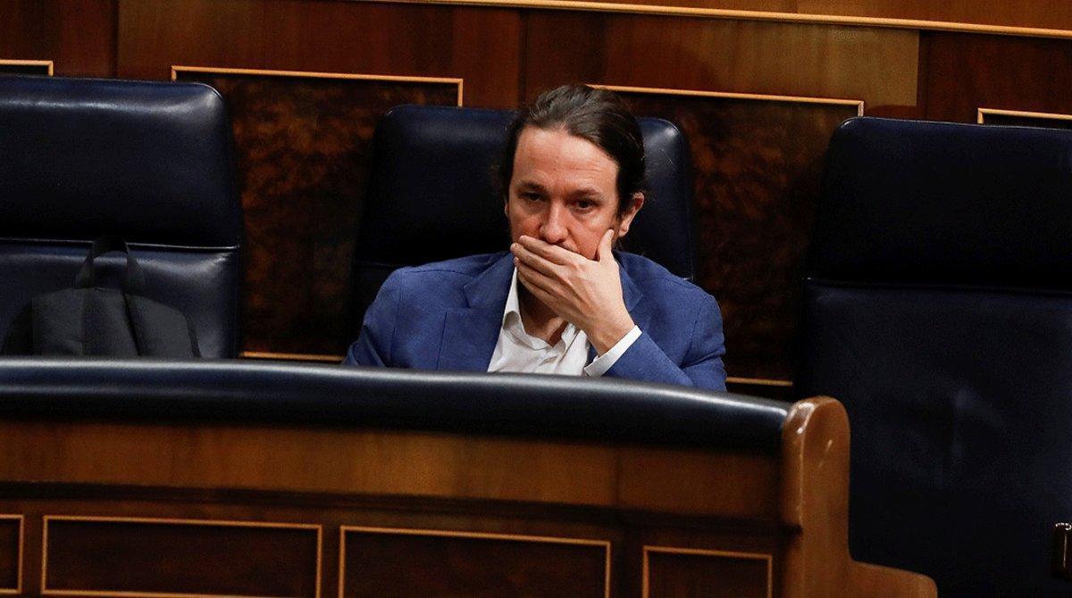 Iglesias situa a finals de setembre la presentació de l'esborrany de Pressupostos