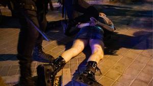 Un arrestat després de la protesta madrilenya per l'assassinat de Samuel