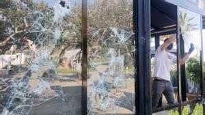 Botellón: Propietarios de locales asaltados valoran los desperfectos en miles de euros