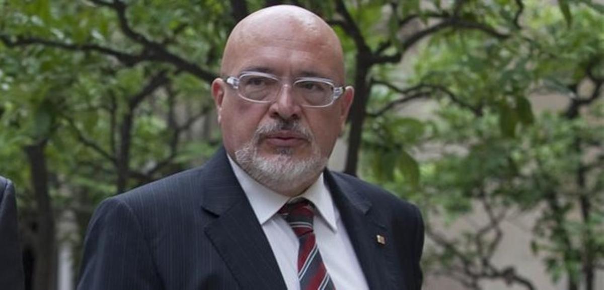 El 'exconseller' de Innovación, Josep Huguet.