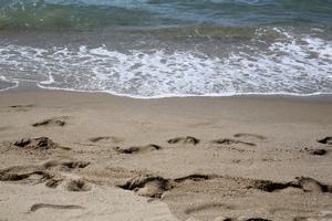La playa de Gavà, en una imagen de archivo.