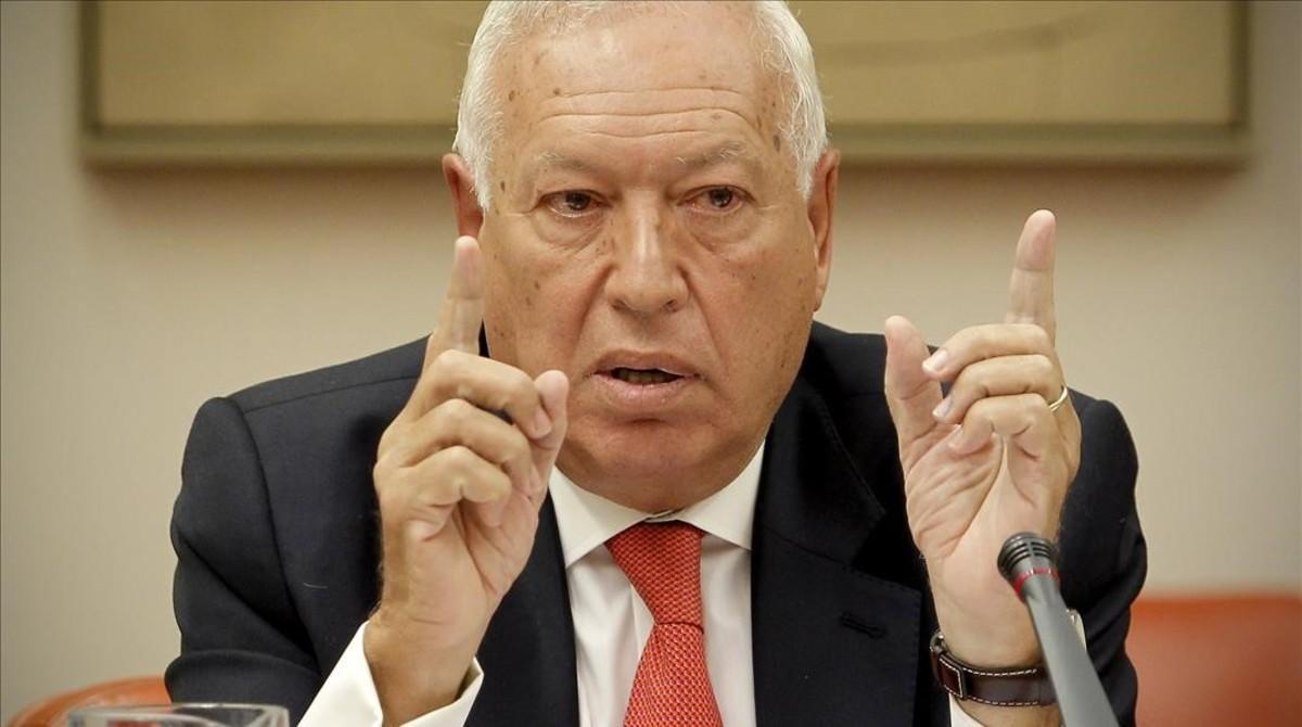 El exministro de Asuntos Exteriores, José Manuel García Margallo.