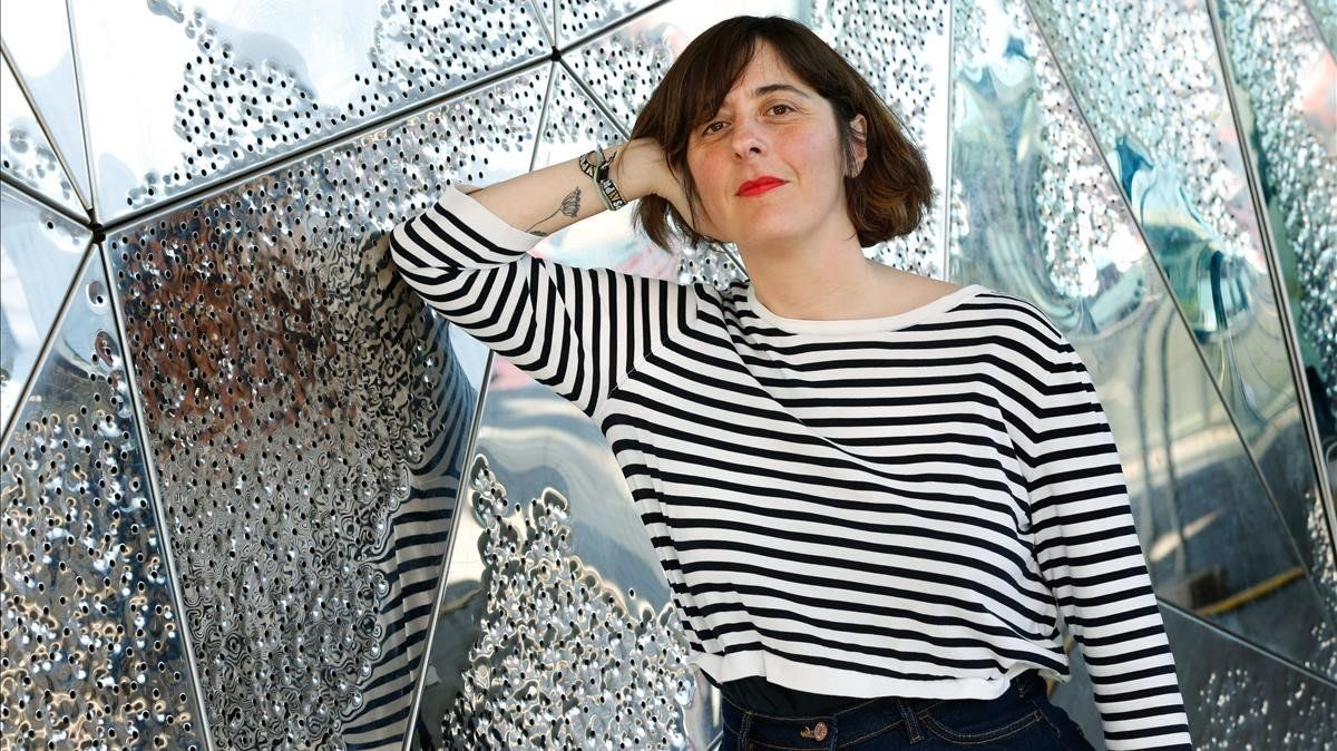 Lucía Lijtmaer, en Barcelona, la semana pasada.