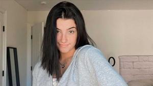 Charli D'Amelio, en una imagen compartida en sus redes sociales.