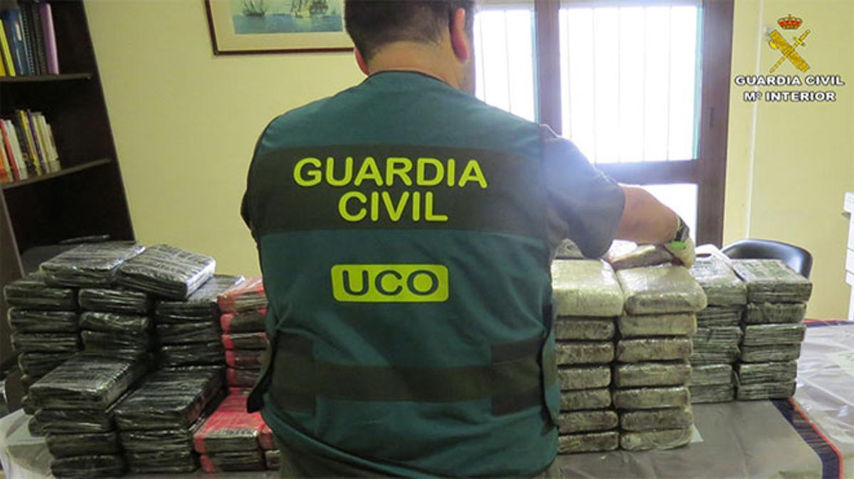 Vídeo de la operación en la que han sido hallados 127 kilos de cocaína