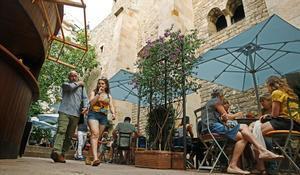 Terraza del Cafè d'Estiu.