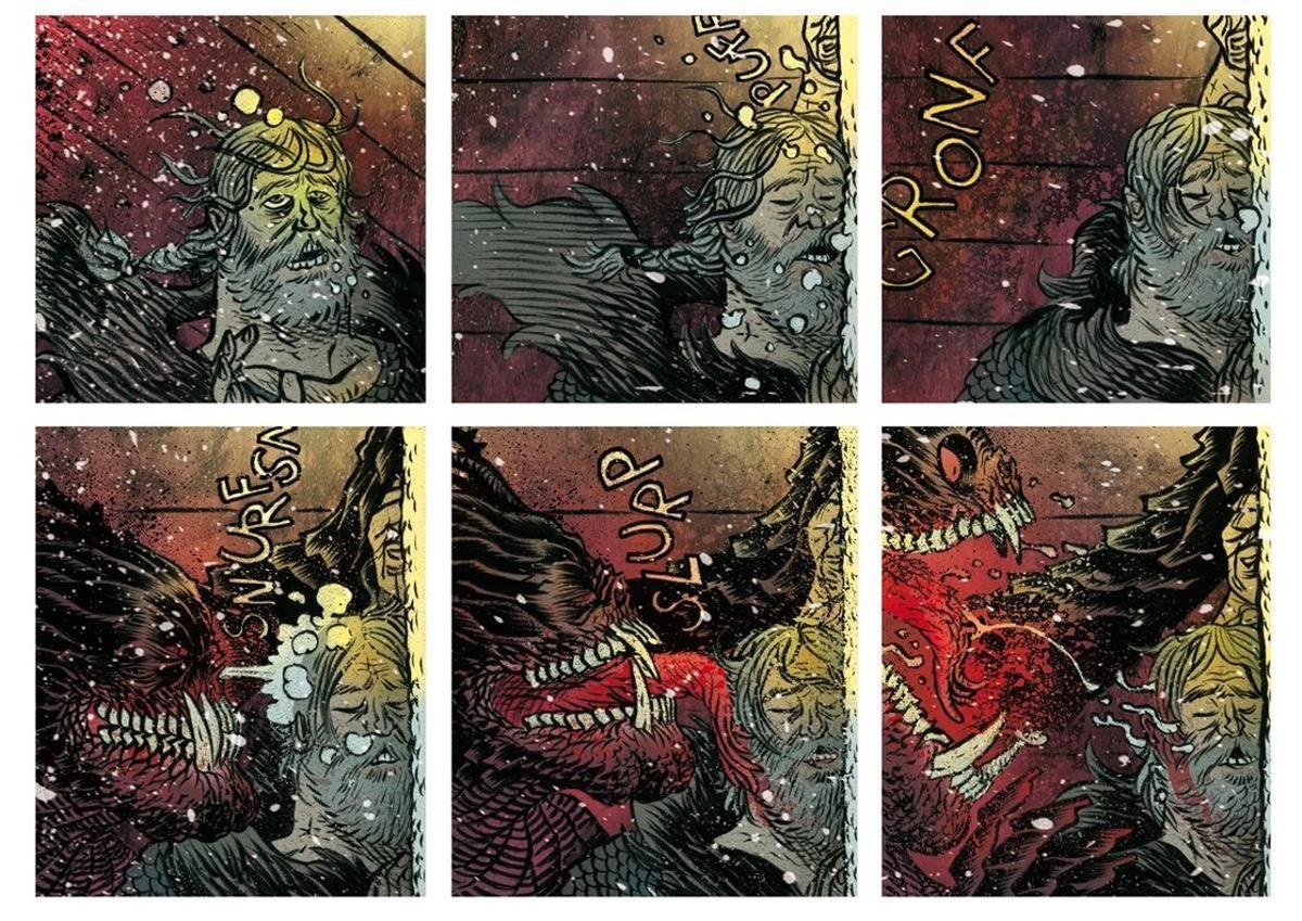 Viñetas de 'Beowulf'.