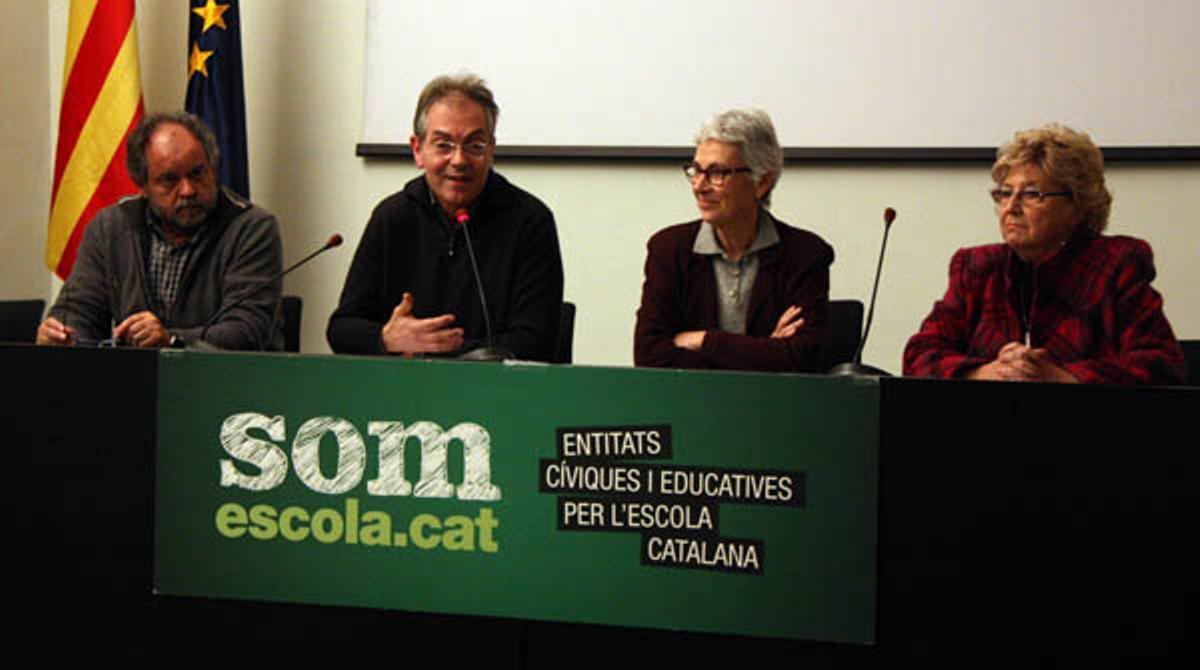 Somescola.cat llama a la movilización en contra de la reforma educativa.