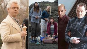 Fotogramas de las series 'Good omens', 'The wilds' y 'Electric dreams'.
