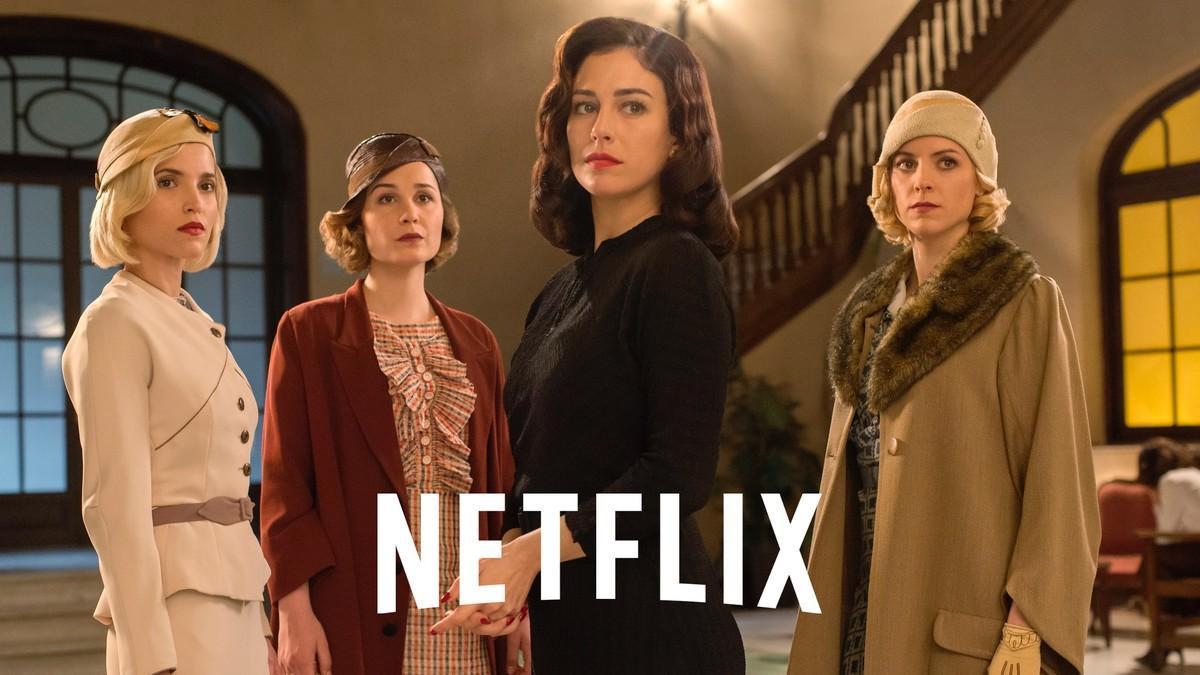 Imagen promocional de la tercera temporada de 'Las chicas del cable'.