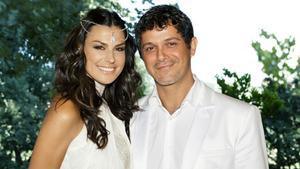 Una imagen de la boda de Alejandro Sanz y Raquel Perera.